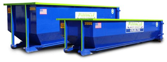 Pinnacle Waste Services - Roll Off Containers